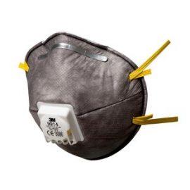 3M 9914 FFP1 Ventilli Düşük Kons. Organik Gaz ve Toz ve Sis Maskesi (10 Adet)