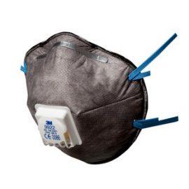 3M 9922 FFP2 Ventilli Düşük Kons. Organik Gaz ve Toz ve Sis Maskesi (10 Adet)