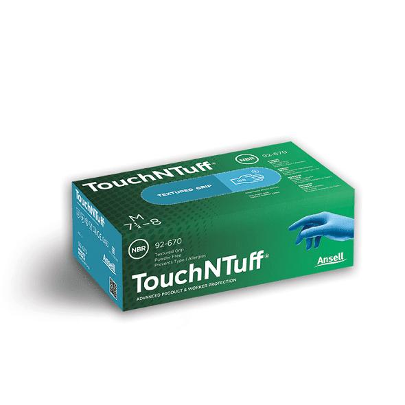 Ansell 92-670 TouchNTuff Tek Kullanımlık Nitril Eldiven (100 Adetlik Kutu)