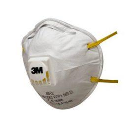 3M 8812 FFP1 Ventilli Toz ve Sis Maskesi (10 Adet)